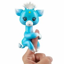 WowWee Fingerlings Baby Giraffe - Lil' G (Blue) - Friendly Interactive Toy - $12.75