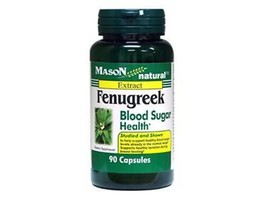 90 Capsules Fenugreek 500mg Blood Sugar Health, Healthy Lactation - $9.75