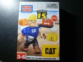 Mega Bloks Mini Construction Site 15 Piece Building Blocks Play Set Toy ... - $8.50
