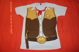 Sheriff, Cowboy Classic, Large Mens T-Shirt - $9.95