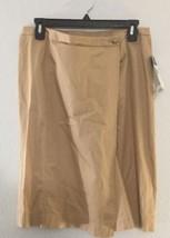 Lauren by Ralph Lauren NEW Beige Womens Size 8 Straight Wrap Skirt $115 092 - $56.64
