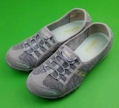 Skechers Sz 8 Womens Relaxed Fit Memory Foam Black Slip-on Shoes SN 2246... - $16.23