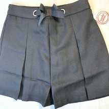 Wonder Nation Uniform Pleated Scooter Skirt Black 8 Comfortable Modest NEW - $12.62