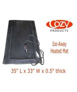 Outdoor Heated Mat COZY Ice-Away Safety Melting Mat ICE-SNOW 240 Watts - $161.99