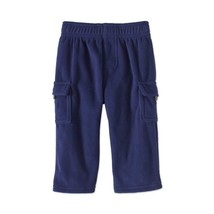 Garanimals Infant Boys' Fleece Pants Solid Navy Blue Size 6-9M - $18.00