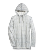 American Rag Men's Printed Hoodie with Pockets, Pale Waters, Size Small - $21.77