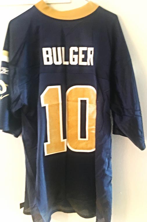 763267c2 St. Louis Rams QB Marc Bulger NFL Jersey. and 50 similar items