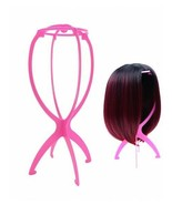 Folding Plastic Wig Stand - New  - $8.99