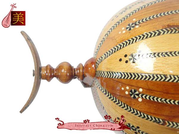 Uyghur Violin Fiddle Silk Road String Musical Instrument Music Khushtar 60cm