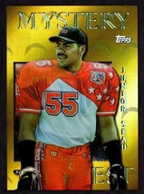 1997 Topps Mystery Finest Gold #M11 Junior Seau Football Card - $29.65