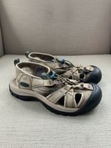 KEEN Venice Brown Leather Sport Hiking Trail Water Sandals US Womens 7.5 - $27.73