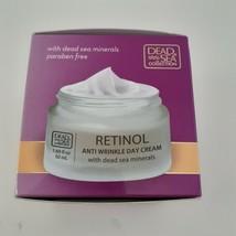 Dead Sea COLLECTION Retinol Anti Wrinkle Day Cream 1.69 oz image 2