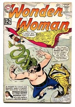 Wonder Woman #130 Comic Book 1962-MISTER GENIE-DC Silver AGE-FN - $73.14