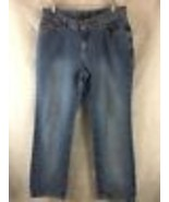 """Riveted by Lee Denim Blue Jeans Boot Cut Size 12 Inseam 30"""" Cotton Made ... - $14.80"""