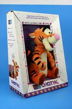"""1999 Disney Pooh Chat Pal Tigger 11"""" Plush Animated Interactive 3+ Boys ... - $69.97"""