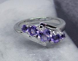 925 Sterling Silver Natural Fine Quality Heart Shape Amethyst Gemstone Handcraft image 2