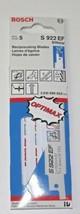 "Bosch S922EF 6"" x 18 TPI Bi-Metal Reciprocating Saw Blades 5 Pack Switzerland - $5.94"