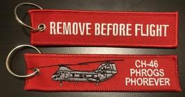 USMC Helicopter CH-46 PHROG KEY RING NEW!!! - $9.89