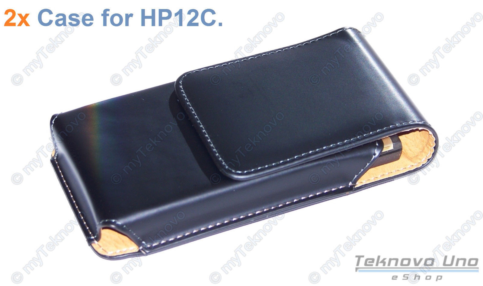 Primary image for 2x Belt Clip CASE Pouch for  HP 10c 11c 12c 12CP HP 15c 16c 17BII+ 10BII+ - USA