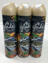 Glade SULTRY AMBER RHYTHM Limited Edition Aerosol Spray 8 Oz Each New Lo... - $19.80