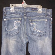 Rock & Republic Womens ROTH Boot Cut 9051 Bling Pocket Jeans 27 30 x 31 ... - $17.77
