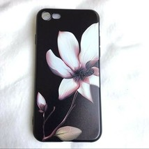 Soft Silicone Floral Flower Iphone Case for iPhone 7, iPhone 7 Plus, 8, ... - $5.99