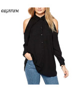 "Women""s Blouse 2018 Female long sleeve casual tops  Off shoulder long sh... - $38.80"