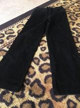 CHAPS Kids Corduroy Pants Sz 7 Black Clothes - $26.73