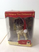 PUG Dog Limited Edition Pet Collection Christmas Ornament American Canine ACA - $19.79