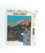 Mccall's Sewing Pattern 8060 Misses Bikini Cover Up Size 12 - $9.89