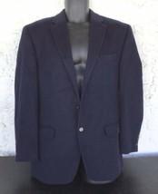 Ralph Lauren Wool/Silk/Cashmere Blend Navy Blue Suit Jacket 41R - $50.00
