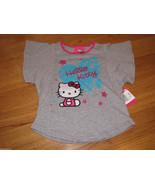 Girls Hello Kitty t shirt 6 HK5203891 hk ss heart HGR Heather Gray HK To... - $6.94