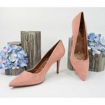 Coach Waverly Melon Pink Suede 85MM Heels Size 9.5 NIB - $123.26