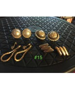 Vintage MONET Clip Earrings - And Other Lot #15 - $17.82