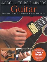 Absolute Beginners - Guitar: Book/DVD Pack [Paperback] [Jan 01, 2002] Ha... - $1.96