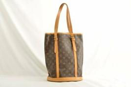LOUIS VUITTON Monogram Bucket GM Shoulder Bag M42236 Auth 9994 **Sticky - $320.00
