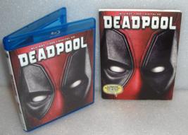 Ryan Reynolds DEADPOOL Blu-ray DVD 2-Disc Set - $24.95