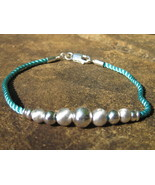 Haunted A Wish A Day Genie Bracelet 925 sterling beads - $77.77