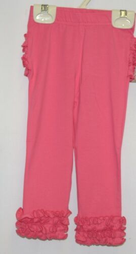 Ruffle Butts SPKCA12 Everyday Candy Ruffles Pants Leggings 12 to 24 Months