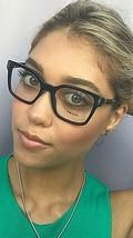 New PRADA VPR 0T5 1AB-1O1 50mm Black Eyeglasses Frame  - $189.99