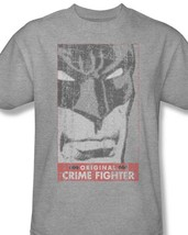 Bm1633 at batman crime fighter classic gray dc tshirt thumb200