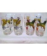 Vintage Hazel Atlas Game Birds Glasses - $16.00