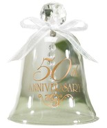 Hortense B. Hewitt Accessories 50th Anniversary Glass Bell - $23.77