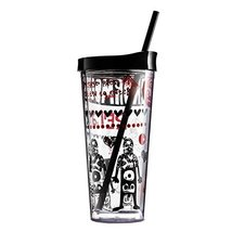 Cup with Lid Straw, Creative Double Wall Tumbler Cup, Travel Cup, Gift Cups, A - $34.83