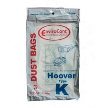 9 Hoover Type K Spirit Vacuum Bags, Canisters, Encore, Supremacy, Older Runabout - $9.96