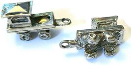 CABOOSE CAR FIGURINE CAST WITH FINE PEWTER - Approx. 1 inch Long  (T159) image 3
