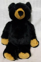 "GANZ Hug-A-Longs SOFT FLOPPY BLACK BEAR 16"" Plush STUFFED ANIMAL Toy - $19.80"