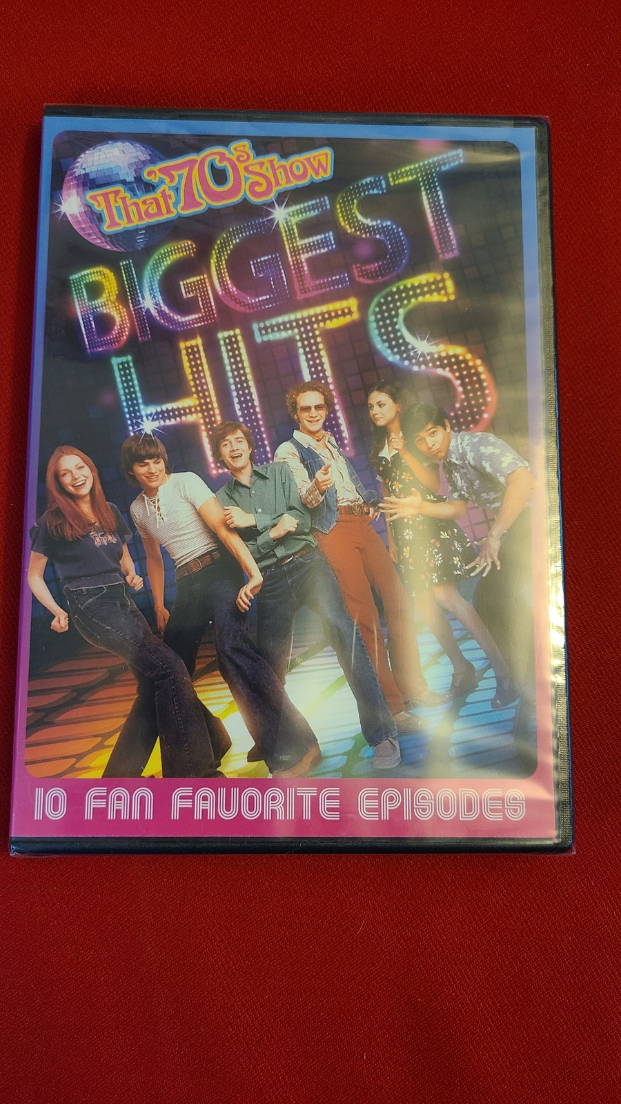 Primary image for THAT 70'S SHOW: BIGGEST HITS- DVD- LAURA PREPON- MILA KUNIS- NEW- FREEBIE