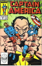 Captain America Comic Book #338 Marvel Comics 1987 VERY FINE- - $2.50