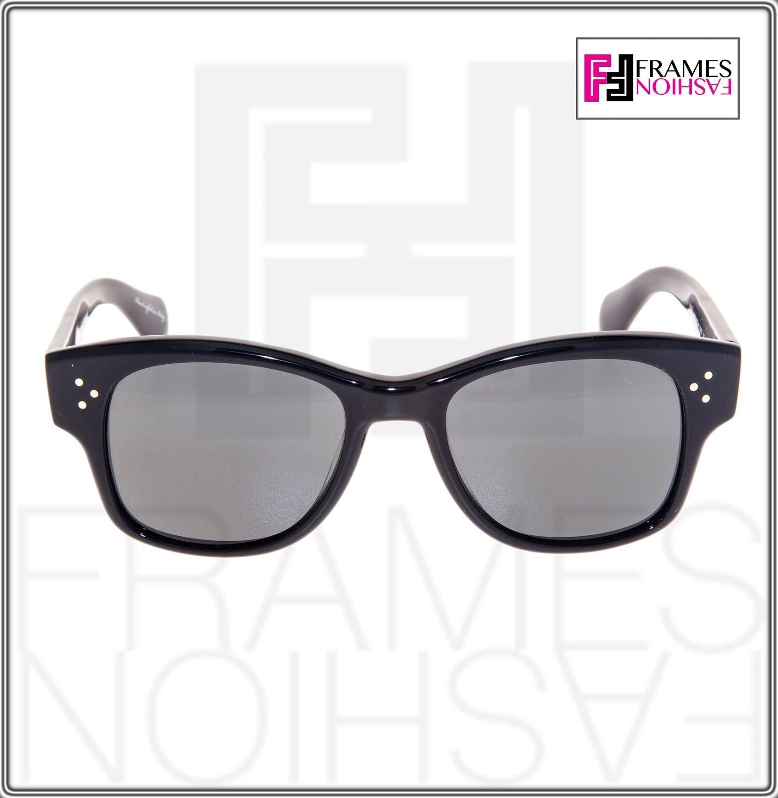 OLIVER PEOPLES Jannsson Sun OV5242S Shiny Black VFX Polarized Sunglasses 5242 image 6